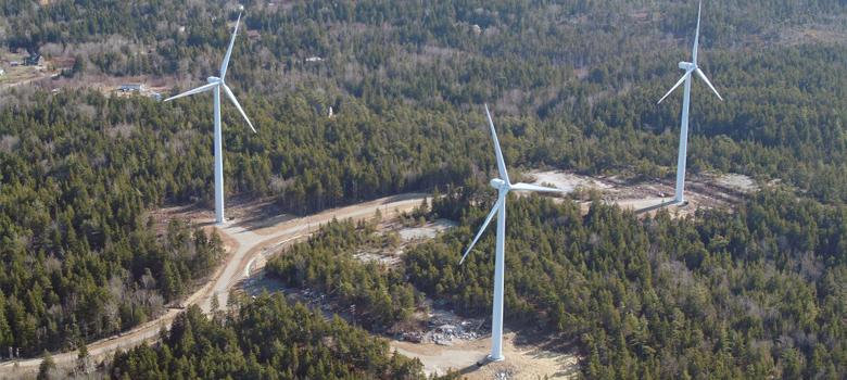 Fox Island Wind Turbines